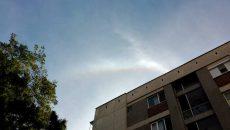 Уникално атмосферно явление в небето над Пловдив