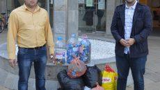 район южен предаде 50 кг пластмасови капачки