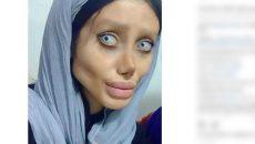 Фенка се превърна в гротеска на Анджелина Джоли