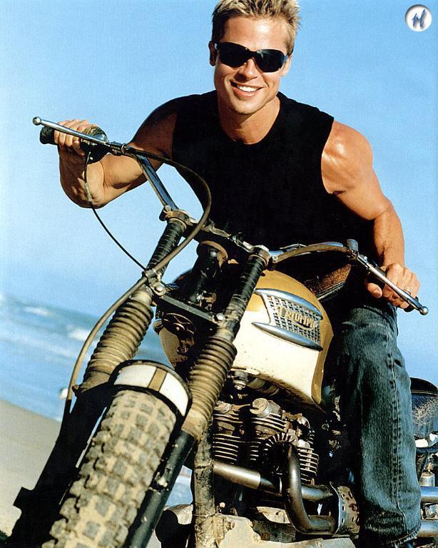 Страстта на Брад Пит: Моторите