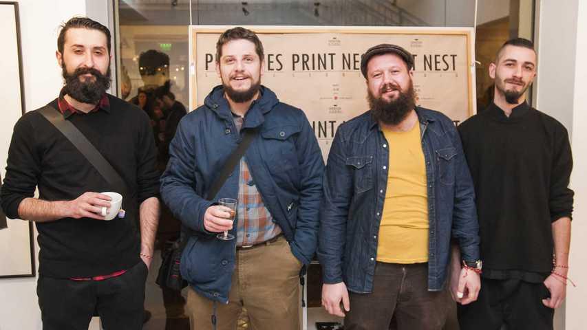 Avtorite na Print nest - Goram, Vasil, Zoran i Pavel