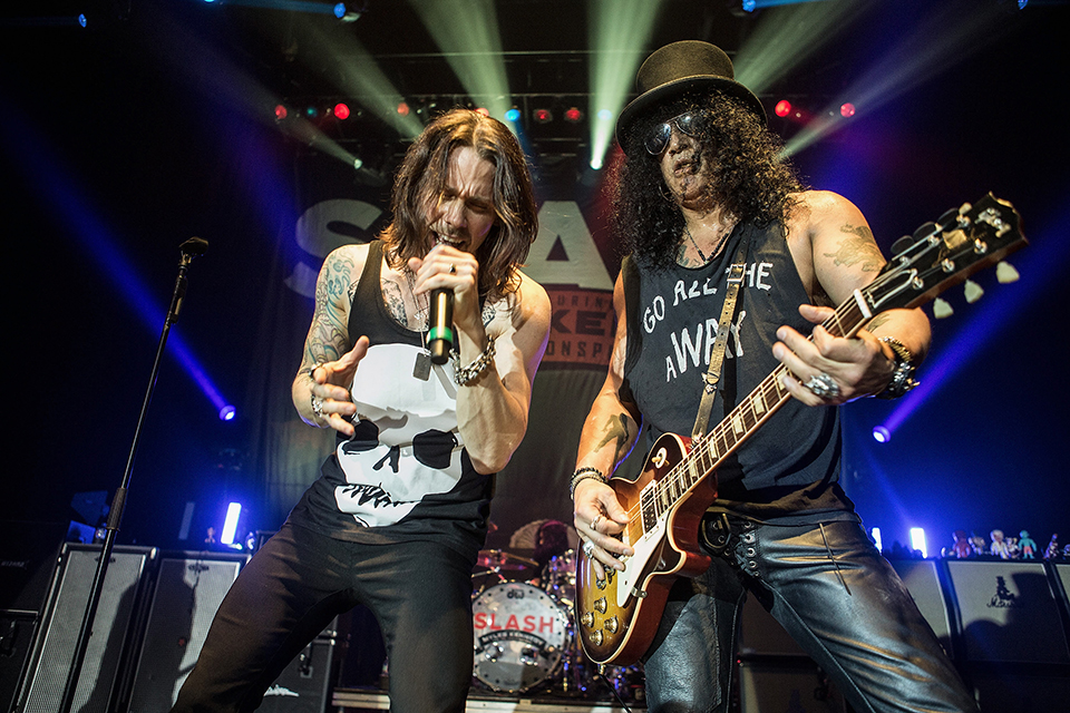 Slash Featuring Myles Kennedy And The Conspirators Perform At The Hollywood Palladium