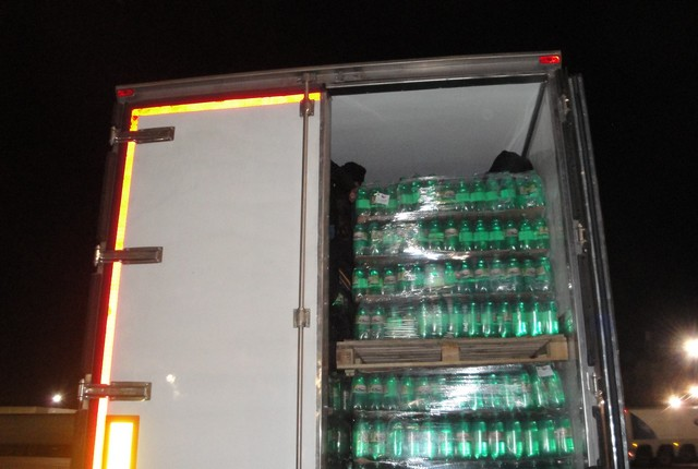 камион газирана вода