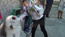 """Кмет и куче на първия учебен ден в СУ """"Патриарх Евтимий"""""""