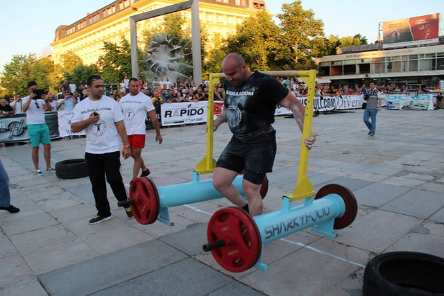 Strongman 2014 v Plovdiv