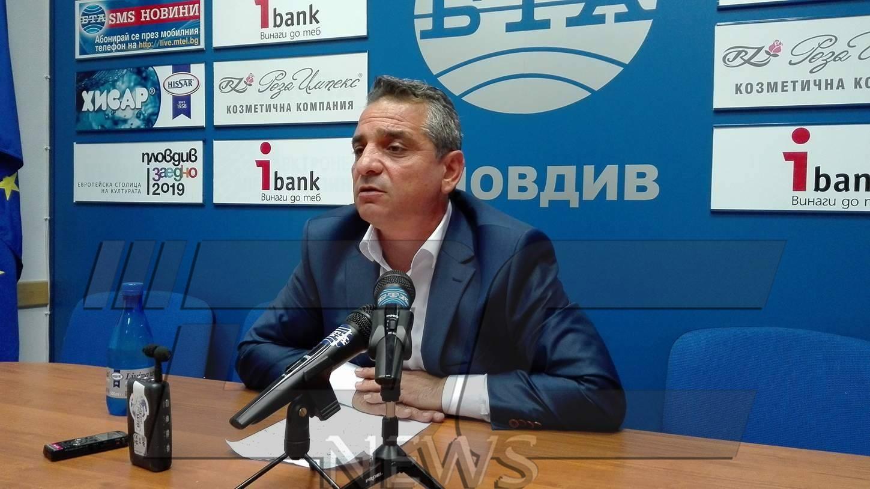 Яшар Асан поиска оставката на Валери Симеонов заради Асеновград (ВИДЕО)