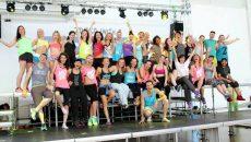 Щуро парти за 6 години зумба в Пловдив