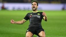 Chelsea's Spanish midfielder Cesc Fabreg