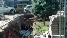 Римски гробища откриха в двора на Медицинския