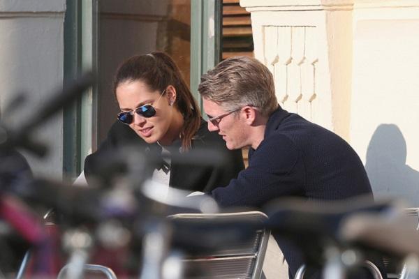 Bastian Schweinsteiger & Ana Ivanovic Sighting In Munich