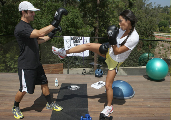 "The 1st Annual ""Muscle Milk Light"" Women's Fitness Retreat - 6/18/2010"