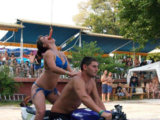 Рокерски събор на Вагабондс Синята вода