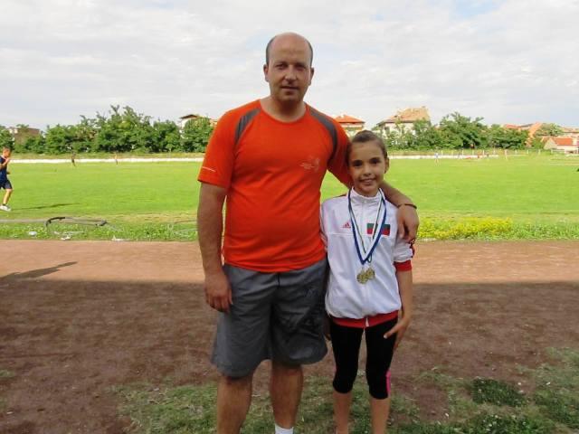 Цветелина Начева стана шампионка по акватон