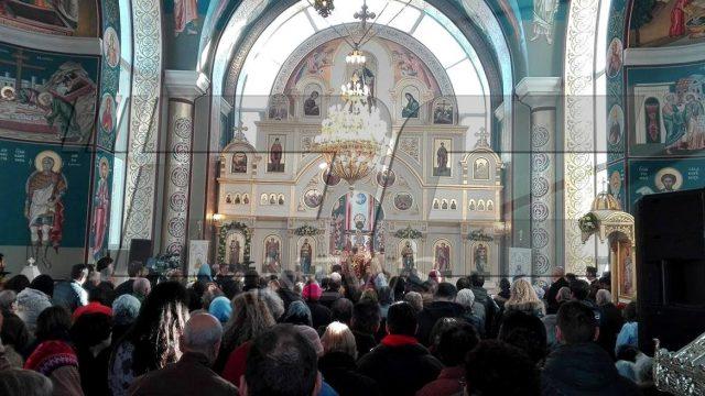 Симеон ІІ на Никулден в Пловдив (СНИМКИ)