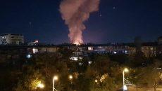 Две къщи и бараки изгоряха при голям пожар в Аджисана
