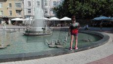 времето, фонтани